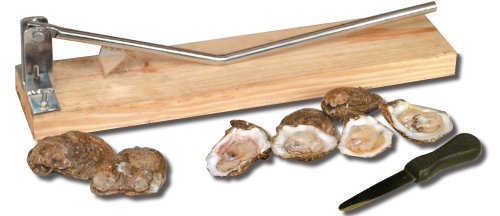 King Kooker 5500 Stainless Steel Oyster Opener, with Oyster Knife