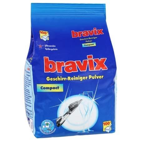 ZHG Bravix Geschirr-Reiniger Pulver Compact für Spülmaschinen 1800g