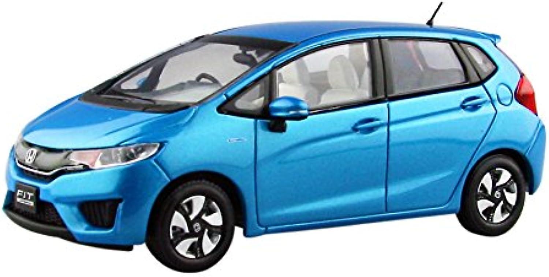 EBBRO 1 43 Honda FIT 3 HYBRID Vivid Sky blueee Pearl