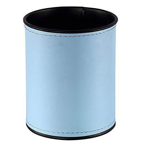 Demarkt Stifthalter Runde Stifteköcher Schreibtisch Aufbewahrung Bürobedarf Schulbedarf Hellblau
