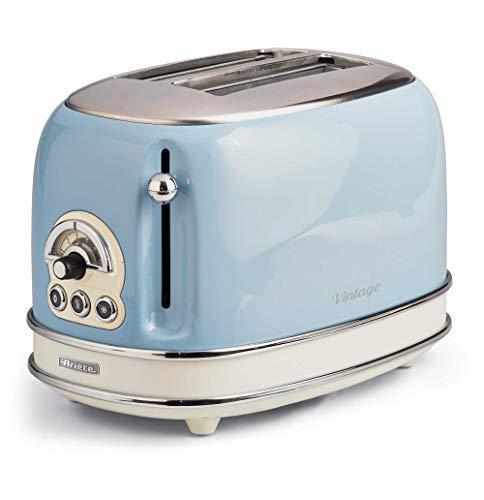 Ariete 155 Toaster mit 2 Schlitzen Vintage Céleste