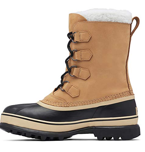Sorel Men's Caribou Snow Boot, Buff, 10.5 M US