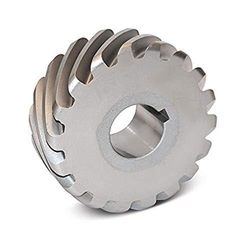 Boston Gear H1616R Plain Helical Gear, 45 Degree Helix, 14.5 Degree Pressure Angle, 0.500 Bore, 16 Pitch, 16 Teeth, Steel, RH