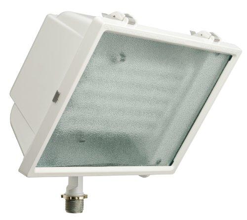 Lithonia Lighting OFL2 65F 120 LP WH M4 Standard Flood Light with 65-Watt 6500K Triple Tube Compact Fluorescent Lamp