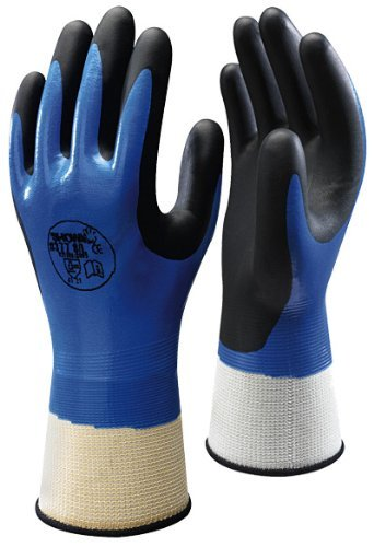 Showa 377 Size 6/Small 10 Pairs Of Fully Coated Nitrile Foam Grip Gloves by Showa