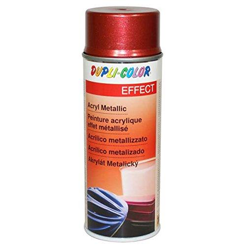 DUPLI-COLOR, Vernice spray acrilica metallizzata, 400 ml, Rosso (rot) - 669088