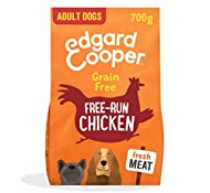 Edgard & Cooper Fresh Free Run Chicken - Complete Adult Dry Dog Food, Grain-free, Packed with Fresh ...