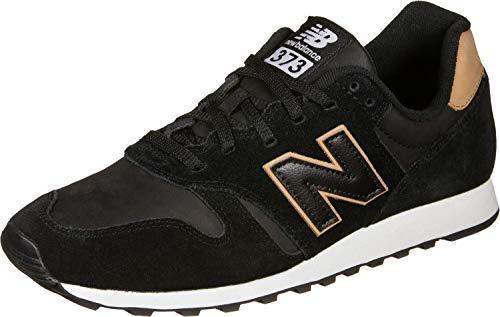 New Balance 373 Zapatillas Hombre, Negro (Black Black), 42 EU (8 UK)