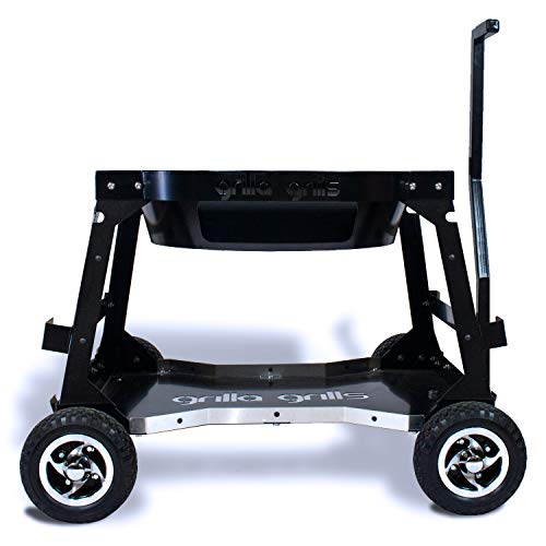 Grilla Grills - All-Terrain Kamado Kart | Off Road Capable Competition Cart | Near Universal Compatibility | 4x4 Ceramic Grill Stand Accessory