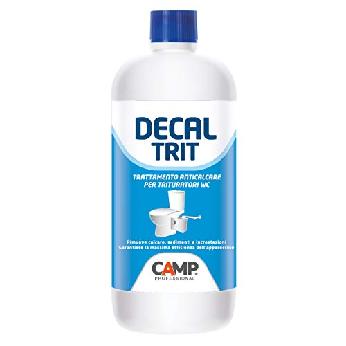 Camp DECAL TRIT, Disincrostante anticalcare professionale specifico per trituratori wc e scarichi, 1 L