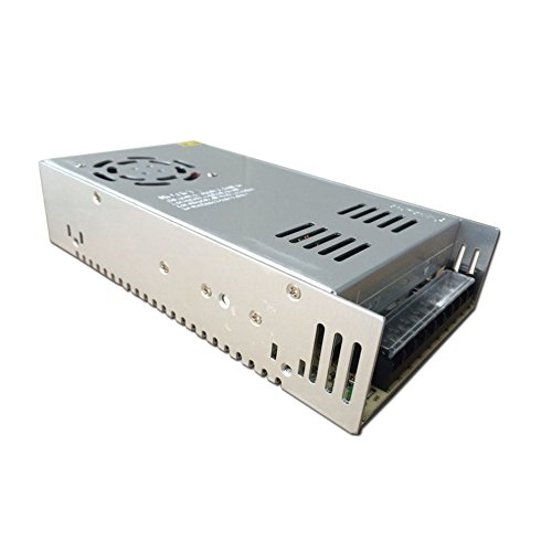 JoyNano Fuente de alimentación conmutada DC48V 10A Transformador convertidor AC-DC 480W para máquina de freno Automatización industrial Motor de pasos CNC y más [Versión mejorada]