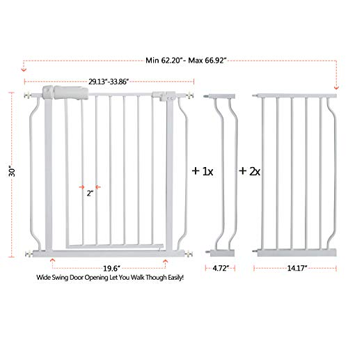 41mFEBLnt2L The Best Baby Gates for Dogs 2021 [In-depth Review]