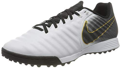 Nike Legend 7 Academy TF, Botas de fútbol Unisex Adulto, Blanco (White/Black 100), 45 EU