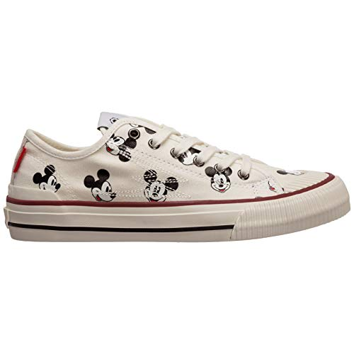 MOA Master of Arts Damen Disney Sneaker Bianco 38 EU