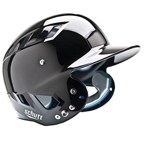 Schutt Sports Air Maxx T Softball Teig Helm, Metallic Schwarz, Größe L