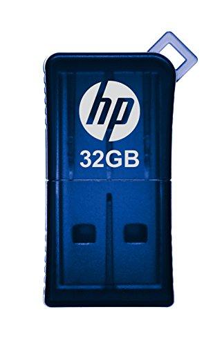 HP v165w 32GB USB 2.0 Flash Drive - Blue - P-FD32GHP165-GE
