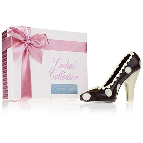 Choco High Heel Dark - Schokolade - Schokoladenschuh aus Zartbitterschokolade - Schokolade - Frauen - Geschenk