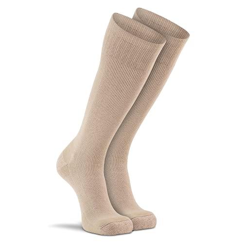 Fox River Wick Dry Socken für Herren, 1 Packung, extra gepolsterte Halbwaden-Stiefelsocken für stickige & super bequeme Füße, sandfarben, Größe M