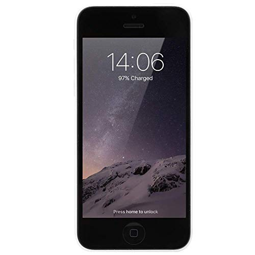 Reacondicionado para iPhone 5C 1.2 + 8mp Cámara Dual Core Smartphone 1 + 16G Blanco 100-240V