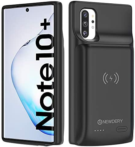 NEWDERY Galaxy Note 10 Plus Battery Case 10000mAh Fast Charging Wireless Charging Case NFC Android product image