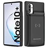NEWDERY Galaxy Note 10 Plus Battery Case 10000mAh, Fast Charging Wireless Charging Case, NFC& Android Auto & Samsung Dex & Sync Tech Supported, Extended Backup Charger Case for Note 10 + 5G(6.8')