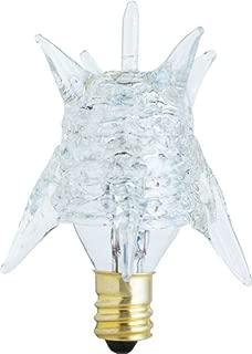 Westinghouse 0374700, 7w, 120v Clear Incand Star Light Bulb, 1000 Hour 45 Lumen, Pack of 6