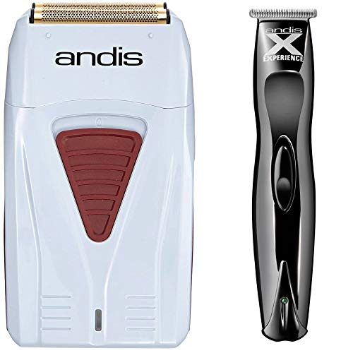 of andis electric shavers Andis 17150 Profoil Lithium Shaver & Andis Experience Cordless T Trimmer