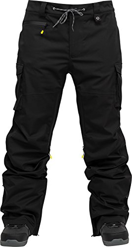 Nitro Snowboards Herren Incline PNT'18 Snowboardhose, Black, XL