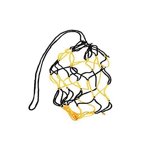 Stonges Basketball Soccer Net Poche épais Noir et jaune en maille boule Sac en...