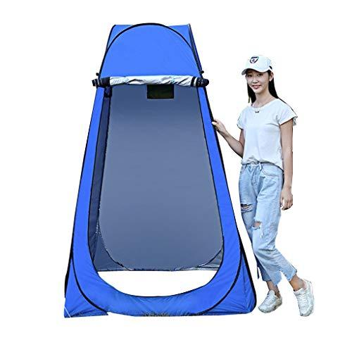 Pop-Up Tents Coco outdoor opvouwbare dressing tent, draagbare gewatteerde warm zilver gecoate lichtdicht, baden dressing tent met draagtas en twee ramen