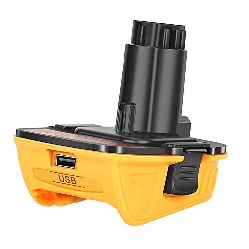 Battery Adapter DCA1820 Replacement for Dewalt 18V Tools, Convert Dewalt 20V Lithium Battery DCB204 DCB205 DCB206 DCB606 to Dewalt 18V NiCad NiMh Battery Tools (1 pack)