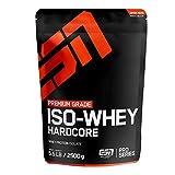 ESN Iso Whey Hardcore Big Pack – 2500g – Vanilla Ice Cream – Erstklassiges Proteinpulver reich an...