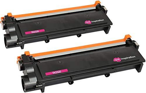 2 Toner Compatibili per Brother TN2320 HL-L2300D HL-L2320D HL-L2340DW HL-L2360DN HL-L2365DW HL-L2380DW DCP-L2500D DCP-L2520DW DCP-L2540DN MFC-L2700DW MFC-L2720DW MFC-L2740DW | 2.600 Pagine | Nero