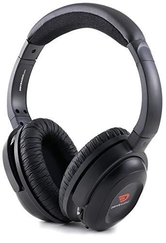 Drive Audio Rechargeable Headphones Compatible with Honda & Acura fits Odyssey, CR-V, Accord, Pilot, Ridgeline, RDX, MDX Wireless Headphones