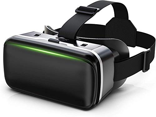 VR Headset, VR 3D Virtual Reality Headset for Movies and Games VR Glasses Goggles Compatible with...