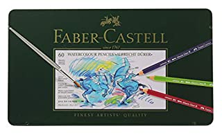 Faber-Castell Albrecht Durer Watercolor Pencil Set 60-Pencil Tin Set (B000OV4MPE) | Amazon price tracker / tracking, Amazon price history charts, Amazon price watches, Amazon price drop alerts