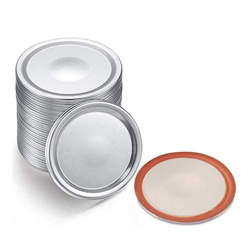 28 piezas de boca de boca tapa tapa de tipo spliting tapas de fármaco de canning Tapas de tapas compatibles con tarras de plata de 86 mm (Color : Silver)