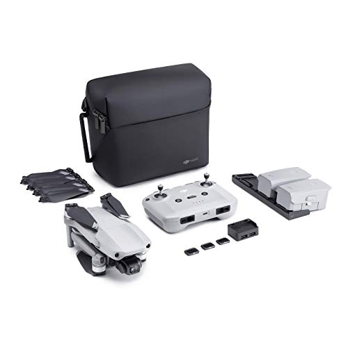 "DJI Mavic Air 2 Fly More Combo – Drohne mit 4K Video-Kamera in Ultra HD, 48 Megapixel Fotos, 1/2"" Zoll CMOS-Sensor, 34 Minuten Flugzeit, ActiveTrack 3.0, 3-Achsen-Gimbal – Grau, DJIMVAIR2COMB-EU"