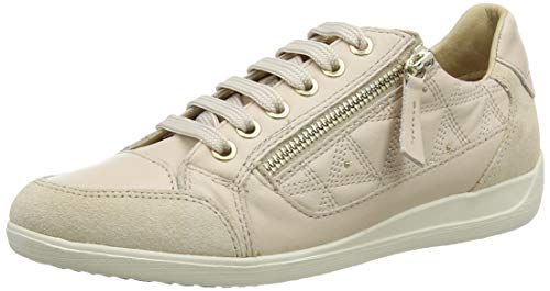 Geox D Myria C, Sneakers Base Donna, Beige (Skin/Sand C8389), 37 EU