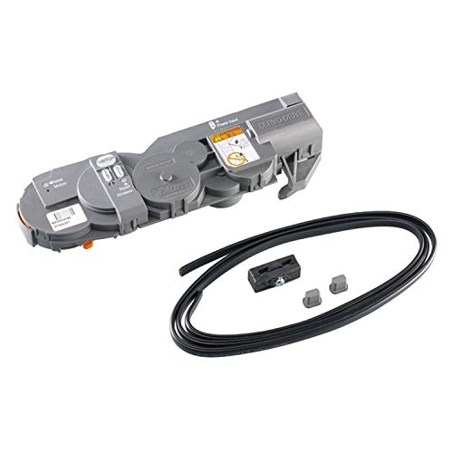 Blum Servo-Drive Antriebseinheit 21FA000 für Aventos HF - HS - HL Klappen-Beschläge   Kunststoff R7037 staubgrau   MADE IN AUSTRIA   1 Komplett-Set Öffnungsunterstützung für Küchen-Schränke