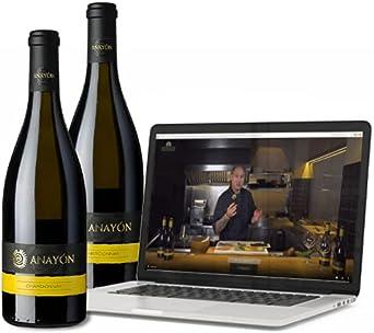 Pack - 2 botellas del Premium Anayón Chardonnay (750 ml x 2) + Vídeo Taller de Sushi de Andrés Médici