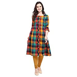 Fashion2wear Women Stitched Kurta/Kurti
