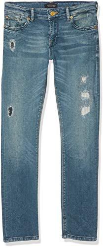 Scotch & Soda Shrunk Jungen Tigger Jeans, Drift Away, 170 (Herstellergröße: 15)