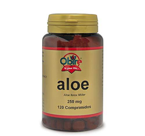 Aloe 250 mg. 120 comprimidos