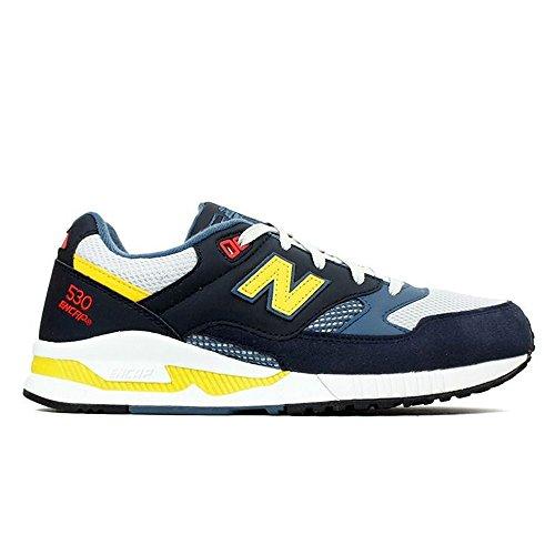 New Balance - Zapatillas de Deporte para Hombre Navy White
