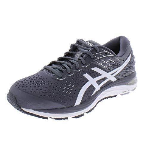 ASICS Men's Gel-Cumulus 21 Running Shoes, 9.5M, Metropolis/White
