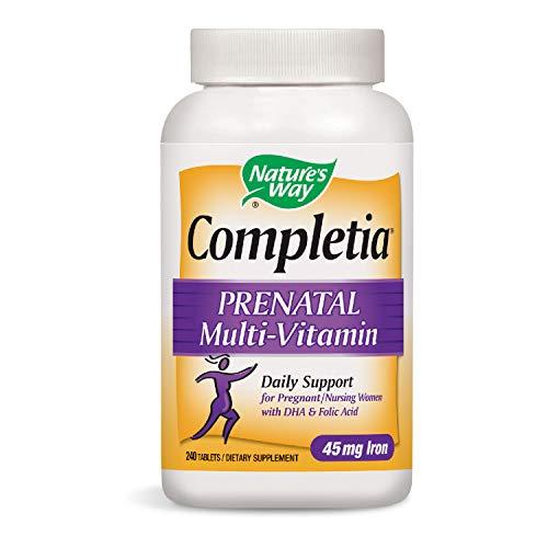 Nature's Way Completia Prenatal Multi-Vitamin w/DHA &...