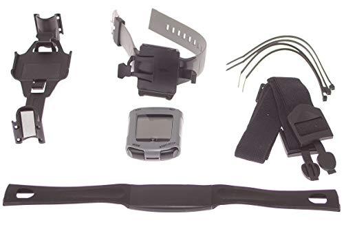 Nordic Walking Puls Uhr mit Brustgurt, Stockhalterung & Armband
