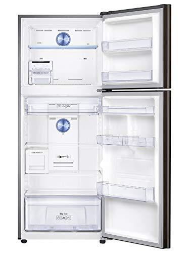 Samsung 386 L 3 Star Inverter Frost-Free Double Door Refrigerator (RT39T5C3EDX/TL, Luxe Brown) 2