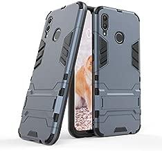 Cocomii Iron Man Armor Huawei Nova 3 Case, Slim Thin Matte Vertical & Horizontal Kickstand Reinforced Drop Protection Fashion Phone Case Bumper Cover Compatible with Huawei Nova 3 (Black)
